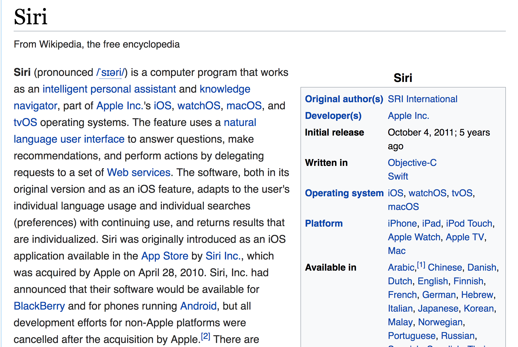 Conversational UIs: Talking to Siri, Alexa, and Your Web Browser